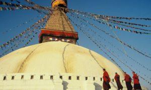 Chorten Nepal Kathmandu Boudhnath