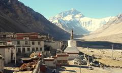 Chorten Tibete Rongbuk Everest 1 - b home size