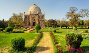 Mosque of Sheesh Gumbad, Lodhi Gardens