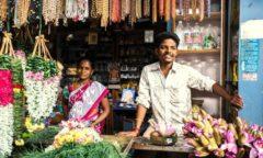 Chorten India Pondicherry market