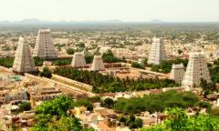 Chorten Tiruvanamalai temples