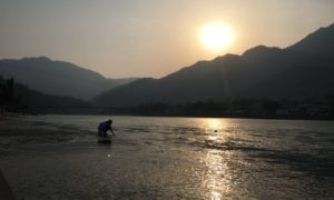 Chorten India Rishikesh Ganges 6